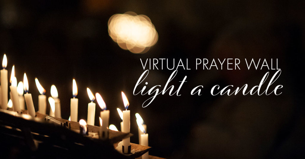 Virtual Prayer Light a Candle